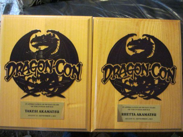 DragonCon plaques