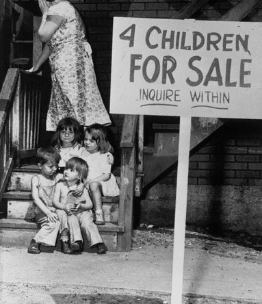 For book: Children for sale 1946