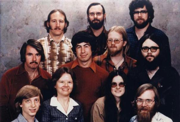 Microsoft Staff 1978 for book