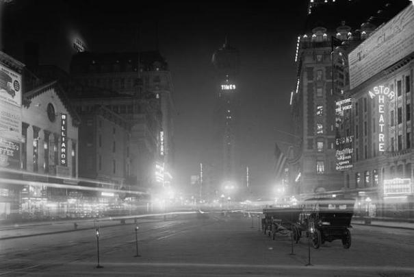 For book: Times Square 1911
